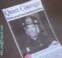 Hero firefighter, Jarod O'Leary