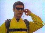 Jarod as a cliff-diver